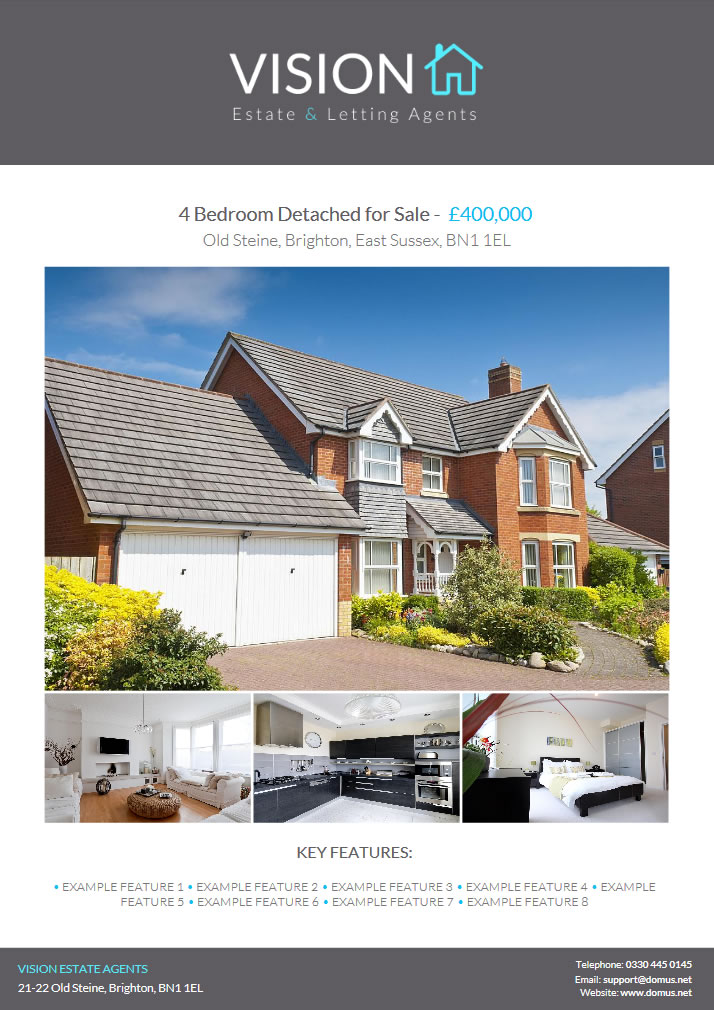 PDF Property Brochures | Domus Estate Agent and Letting
